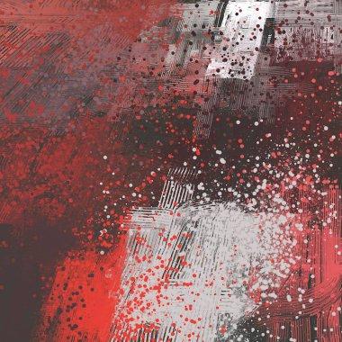 "Картина, постер, плакат, фотообои ""гранж фон с пространством картина пейзаж постеры портрет ретр"", артикул 288666226"