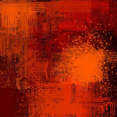 "Картина, постер, плакат, фотообои ""vintage grunge background with different color patterns картина цветы"", артикул 289774280"