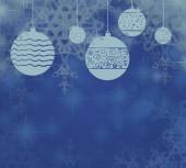 abstraktní pozadí s vánoční koule