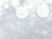 abstraktní vánoční pozadí se sněhové vločky