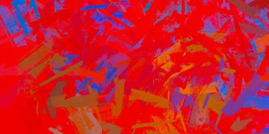 abstract wallpaper with colorful paint patterns