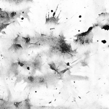 abstract watercolor strokes and stains in grunge pattern