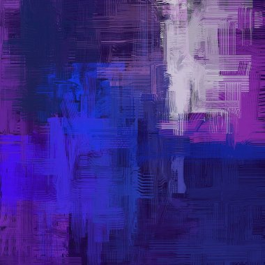 Abstract background art. 2d illustration. Expressive hand drawn oil painting. Brushstrokes on canvas. Modern digital art. Multi color backdrop. Contemporary art. Expression. Popular art.