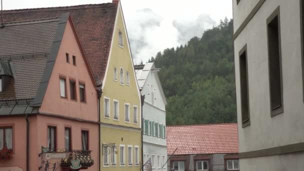 Blick auf die malerischen bayerischen Stadt in Deutschland