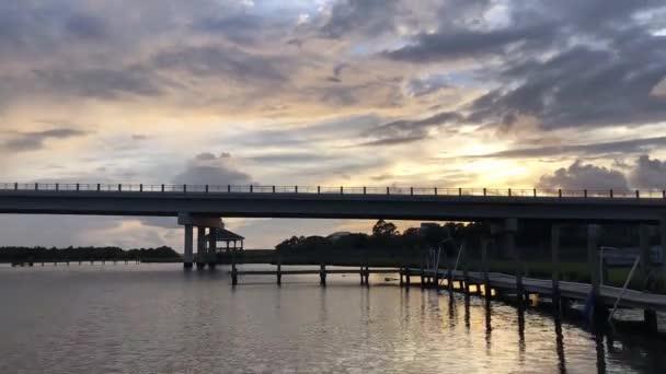 Timelapse from Surf City Bridge