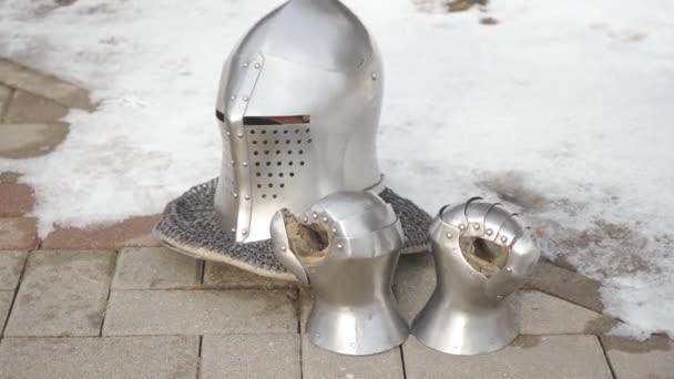 Iron Knight Helmet and Gloves