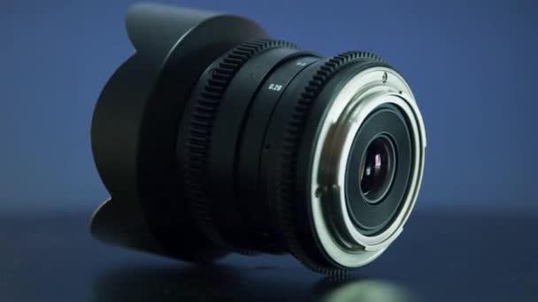 Camera lens rotate, background or presentation usage.