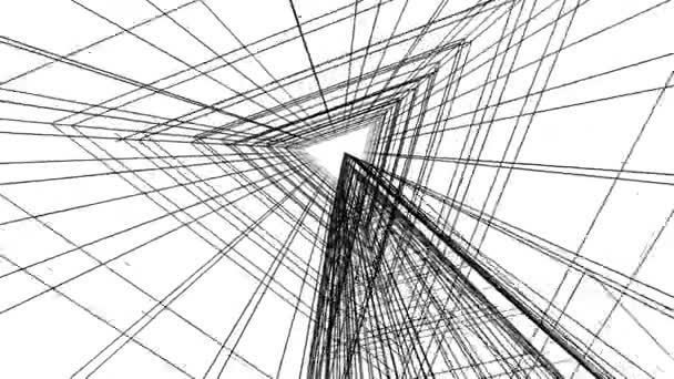 Bewegung durch minimale 3D-Architekturformen