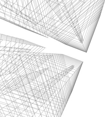 minimal geometrical shapes, architectural lines
