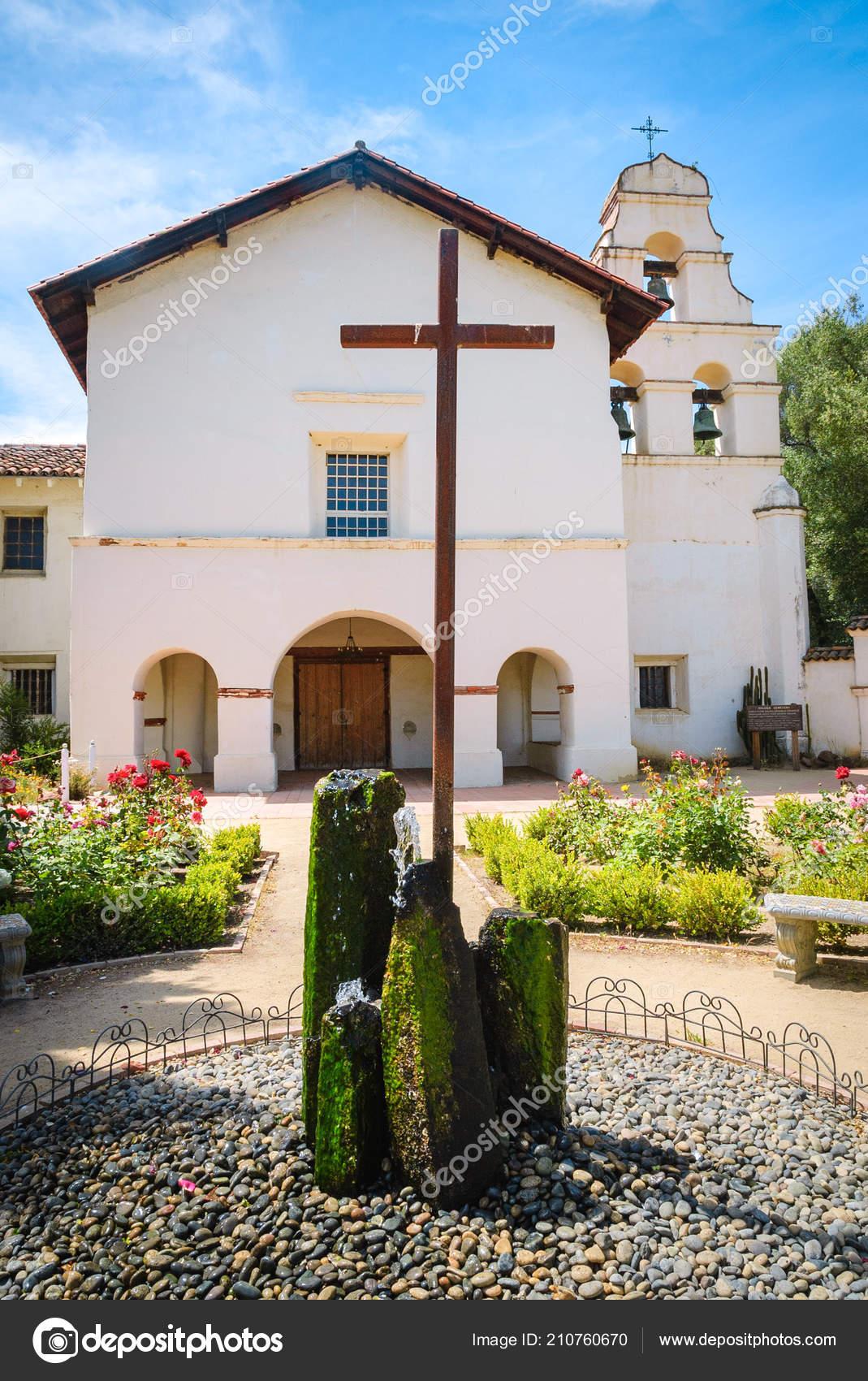 Parque Historico Del Estado Mision San Juan Bautista Foto De Stock