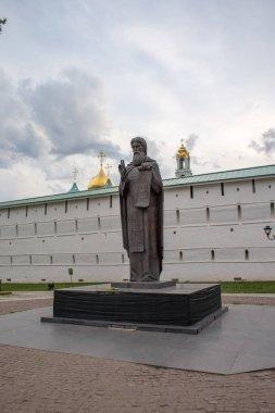 Monument to the Reverend Sergey of Radonezh in Segiyev Posad