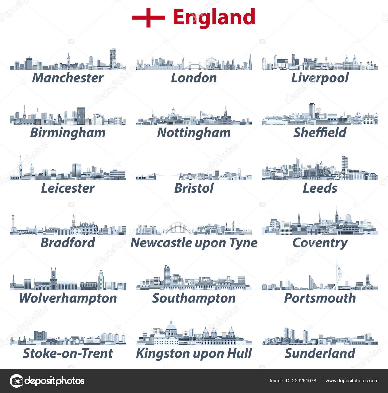 englands största städer