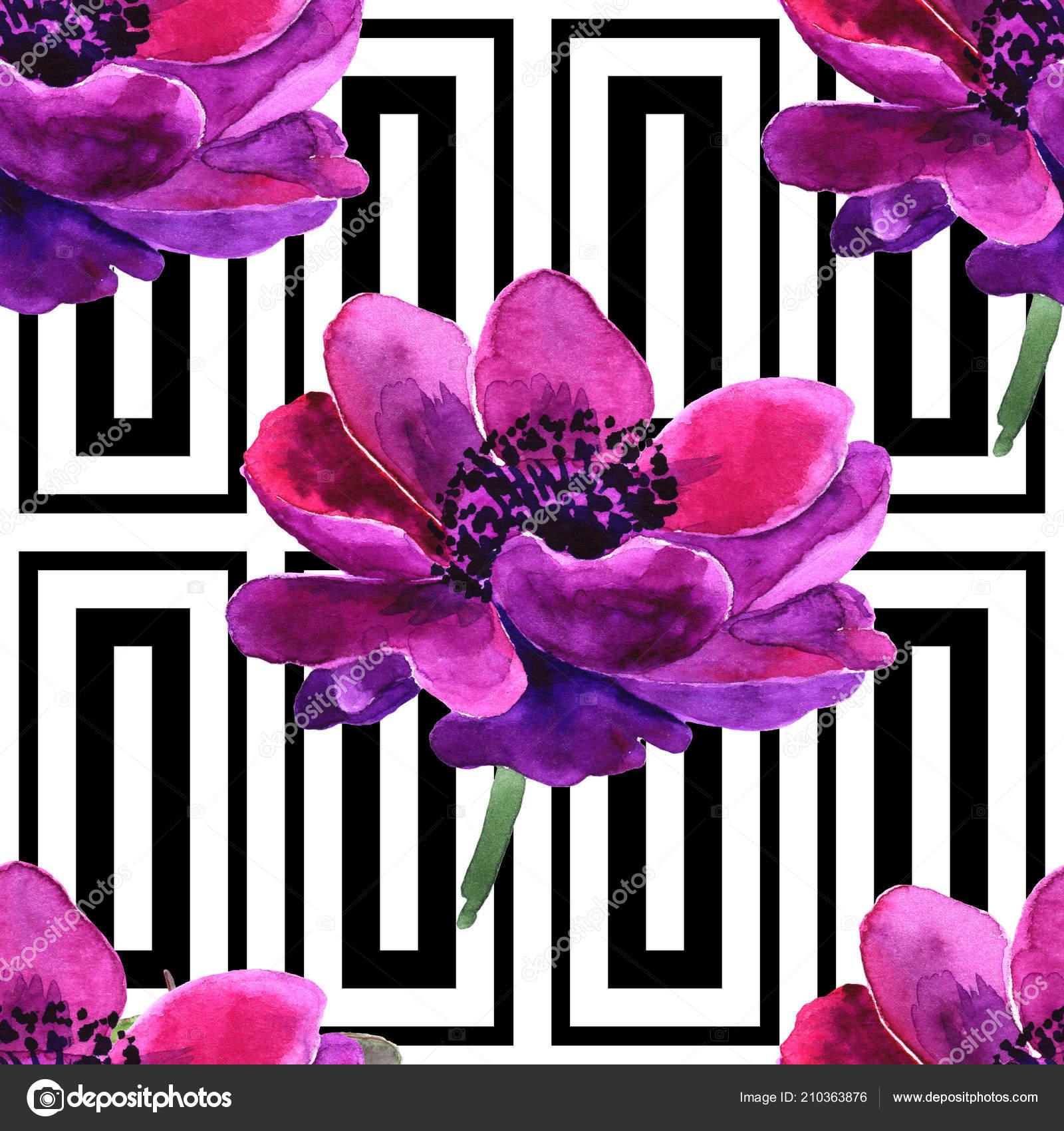 Название лилового цветка