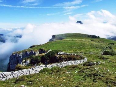 Photogenic pastures and hills of the Alpstein mountain range - Canton of Appenzell Innerrhoden, Switzerland