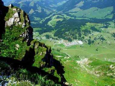 Schwaegalp mountain pass or Der Schwaegalppass - Canton of Appenzell Ausserrhoden, Switzerland