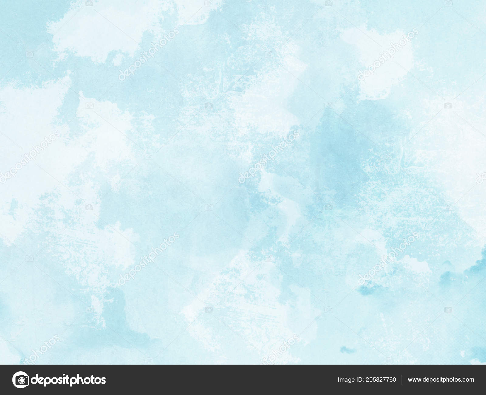 Watercolor Background Abstract Pastel Blue Texture Stock Photo C Doozie 205827760