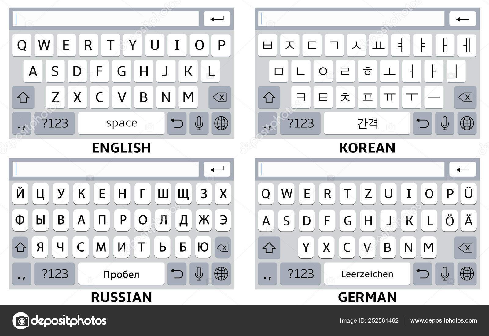 корейская клавиатура скачать бесплатно