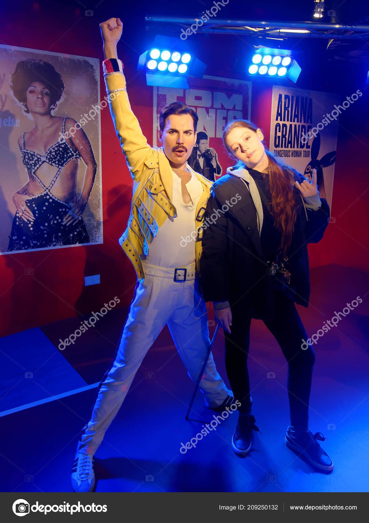 165e7175ca9 Αθήνα Ιανουαρίου Madame Tussauds Ηνωμένο Βασίλειο 2018 Freddie Mercury  Ήταν– Εκδοτικές Φωτογραφίες Αρχείου