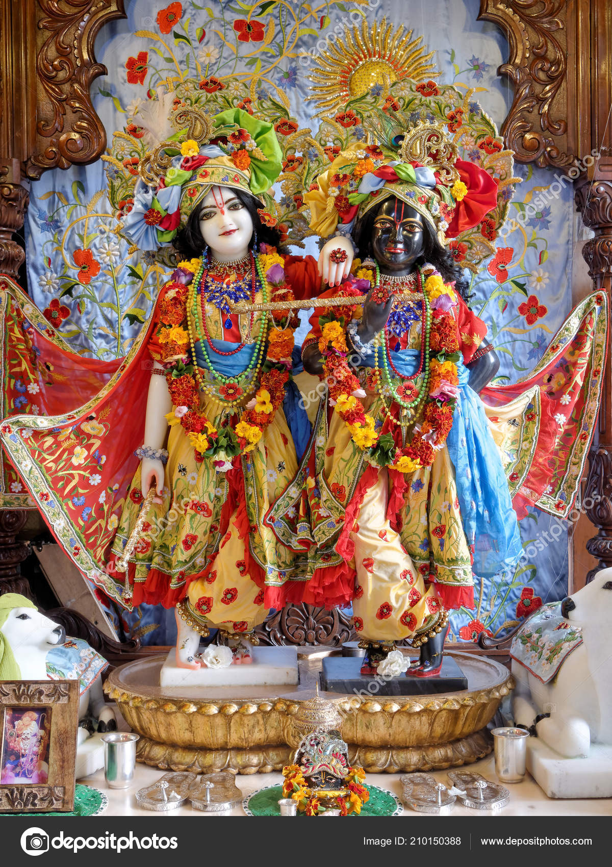 New Mayapur August Krishna Balarama Hare Krishna Temple