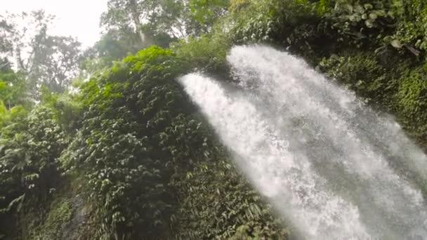 cascade of a waterfall