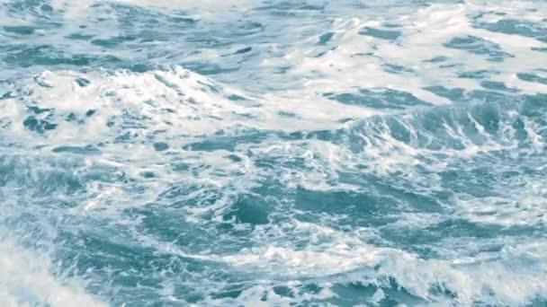 Video z bouřlivé mořských vln