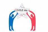 Chilei Nemzeti ünnep, zászlók