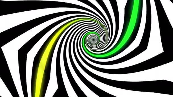 abstrakte psychedelische Illusion eschers inspirierten Hintergrund. Ultra hd, 4k 3840x2160, Looping