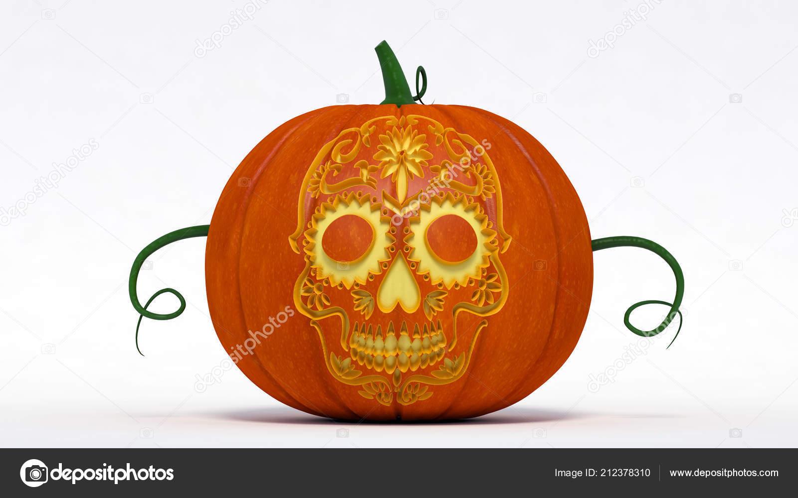 Dag Halloween.Halloween Dag Van Dood Pompoen Hefboom Lantaarn Met