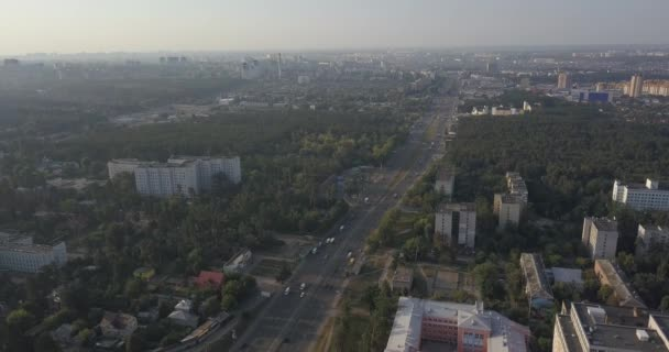 Obytné čtvrti domy okres letecký pohled na 4k 4096 x 2160 pixelů