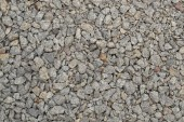 This material is used for the manufacture of concrete and construction of roads.And also in a landscape design.