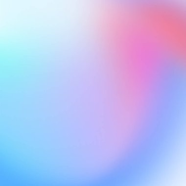 Colorful holographic background, blurred effect stock vector