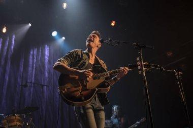 Amsterdam, The Netherlands - 2 November 2017: Concert of Israelian singer Asaf Avidan at Venue Melkweg in Amsterdam