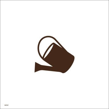 watering can web icon, vector illustration