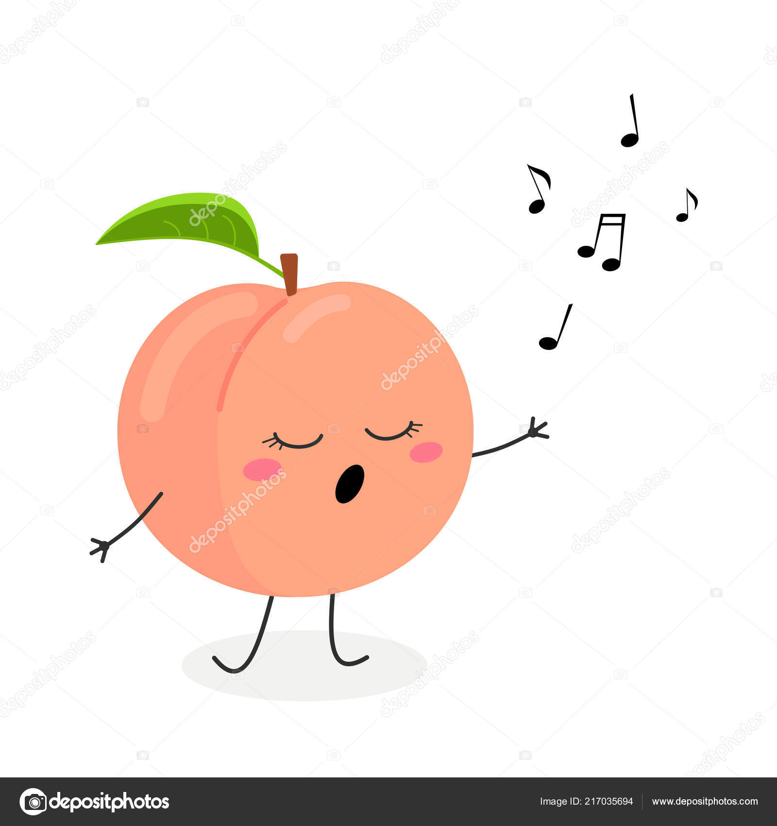 Funny Peach Funny cartoon p...