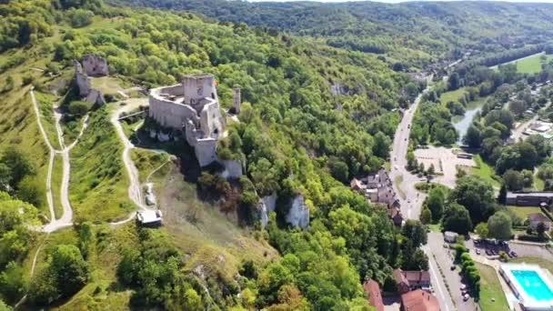 Chateau Gaillard castle, Les Andelys, Normandy, France