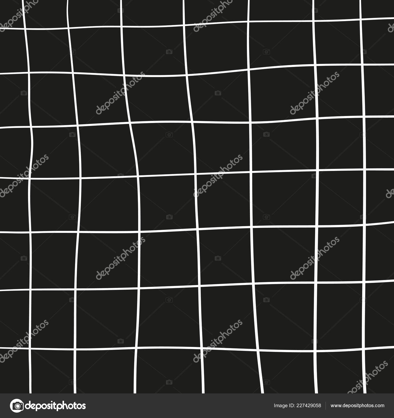 Black White Pattern Grid Background Simple Scandinavian Design Stock Vector C Knstart 227429058