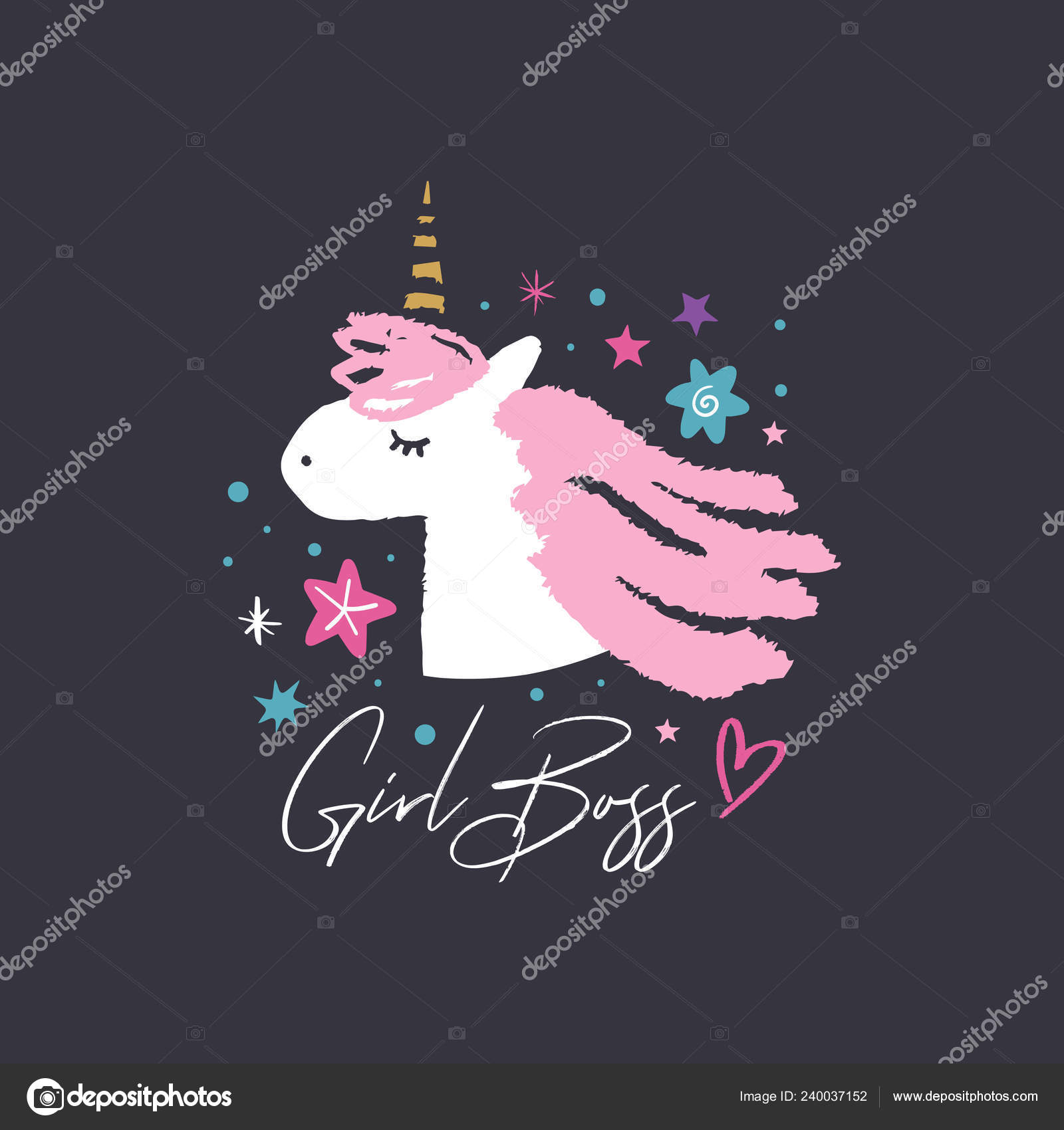 Clipart Boss Baby Girl Unicorn Head Cute Art Baby Stylish