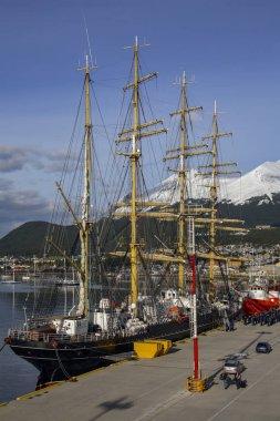Sailing ship - Ushuaia - Argentina