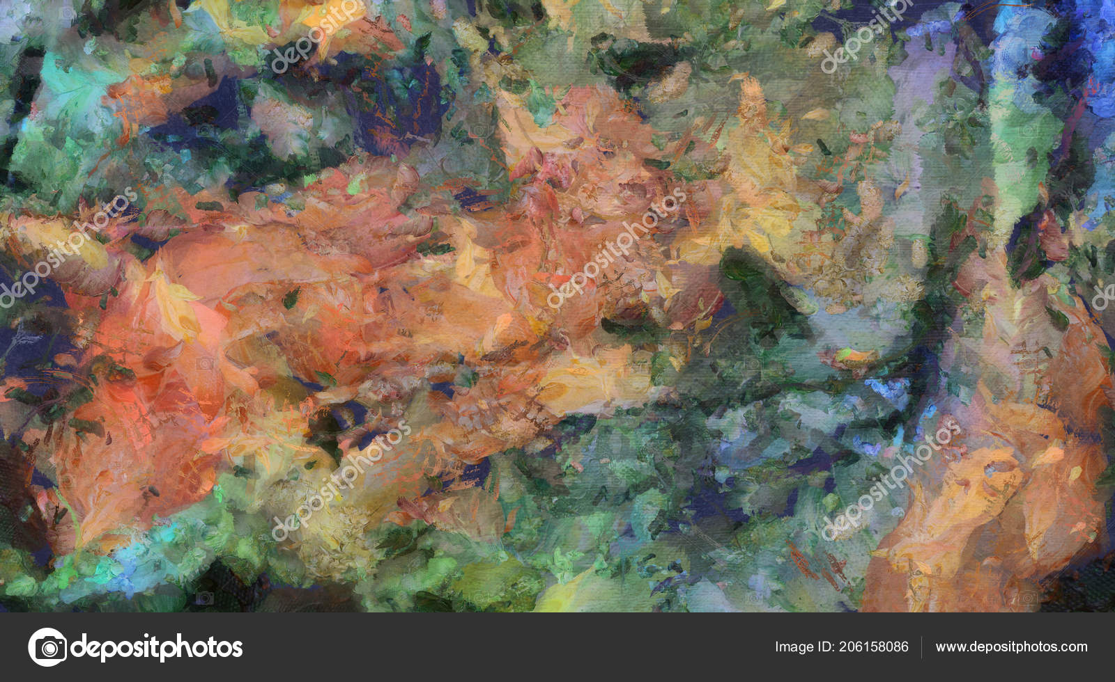 Pastel Colors Abstract Painting Colorful Abstract Painting