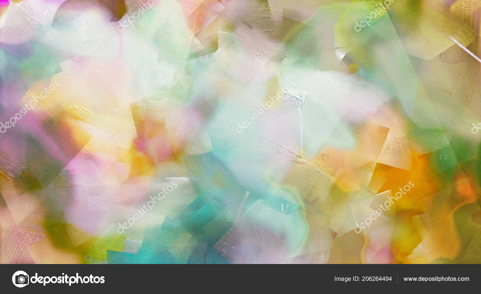 Abstract Painting Pastel Colors Stock Photo C Rolffimages