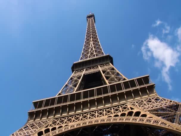 Eifel tower in paris  closeshot