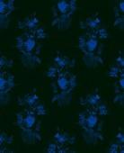 Květinové pozadí založené na akvarelu ručně tažené bezešvé pattern