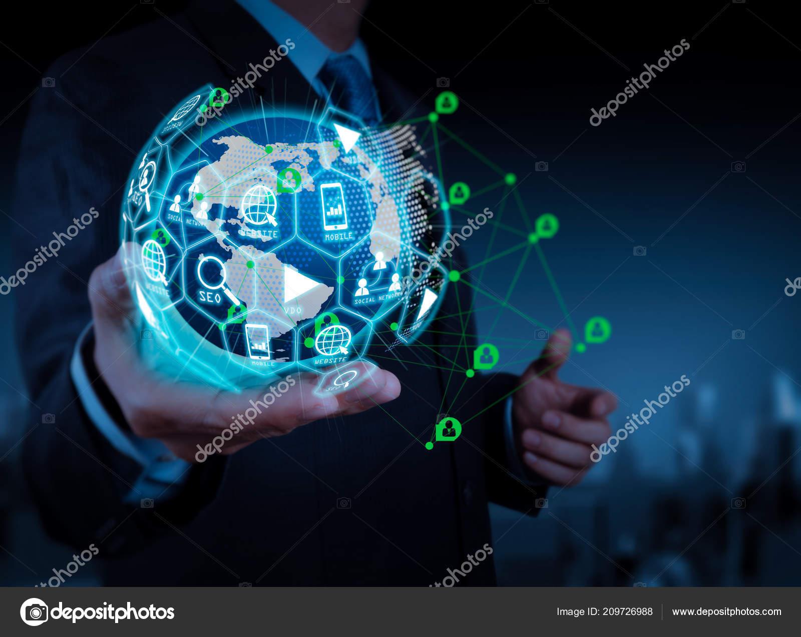 Digital Marketing Media Website Email Social Network Seo