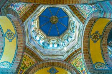 MARSEILLE, FRANCE, JUNE 9, 2017: Interior of Cathedral La Major in Marseille, Franc