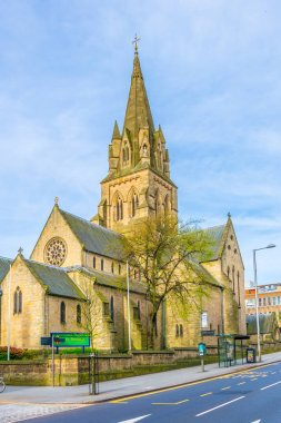 the Nottingham cathedral, Englan