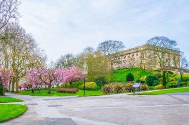 the Nottingham castle, Englan