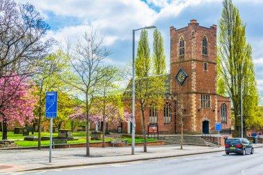 Saint Nicholas church in Nottingham, Englan