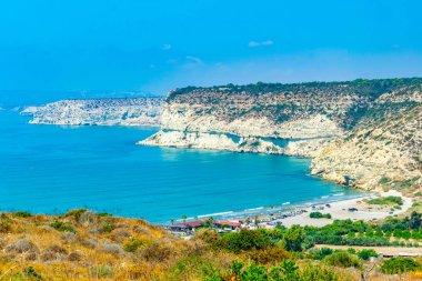 Kourion beach on Cypru