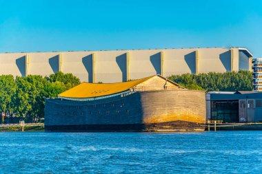 Replice of Noah's ark in Rotterdam, Netherlands