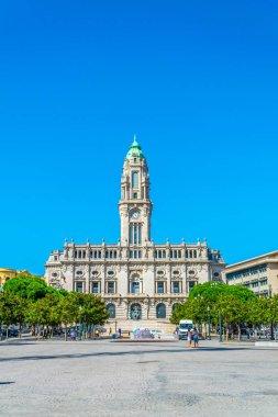 Town hall in Porto, Portugal